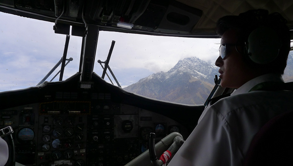 Flight to Jomsom